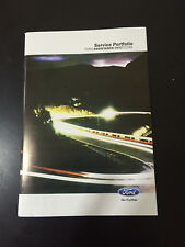 FORD SERVICE HISTORY BOOK PETROL AND DIESEL FOCUS MONDEO FIESTA TRANSIT