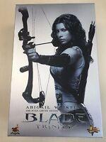 Hot Toys MMS 128 Blade Trinity Abigail Whistler Jessica Biel 12 inch Figure NEW