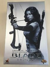 Hot Toys MMS 128 Blade Trinity Abigail Whistler Jessica Biel 12 inch Figure NEW