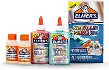 Elmer's 4 Piece Metallic Slime Kit NEW