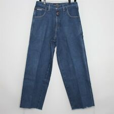 VTG Wu-Wear Wu-Tang Mens 32 x 30 Carpenter Spell Out Jeans G444