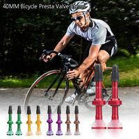 Tubeless Presta  Bicycle Extender Valves Tyre Accessories MTB Road Bike