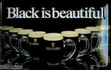 GUINNESS,/ BEAUTIFUL, EMBOSSED(3D) METAL ADVERTISING SIGN 30X20cm PUB/ IRISH BAR