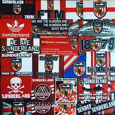 100 x Sunderland Stickers based on Shirt Stadium of Light SAFC Spezial Adidas