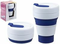 Summit MyBento Pop Cup 355ML Collapsible Coffee Mug Travel Foldable - Blue