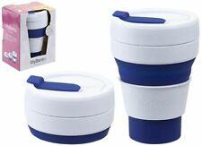 Summit MyBento Pop Cup 355ML Collapsible Coffee Mug Travel Foldable - Blue