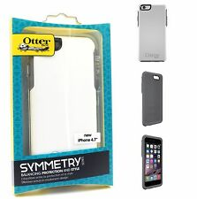 OtterBox iPhone 6S/6 Symmetry Tough Rugged Case Cover - White/Glacier - 77-50548