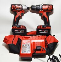 Milwaukee 2691-22 18V Cordless Drill and Impact Driver Combo Kit