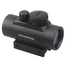 VictOptics 1x35 5 MOA Green Red Dot Sight Reflex Scope with 21 mm Picatinny Rail