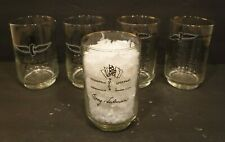 Vtg 1911-1966 Indianapolis Motor Speedway Race Winners Glass Graham Hill Set 5