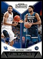 2019-20 Contenders Draft Picks Legacy #10 Karl-Anthony Towns - Timberwolves