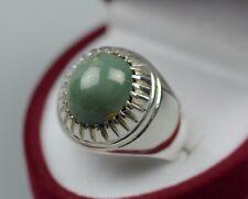 Natural Hussaini Feroza Sterling Silver 925 Handmade Green Turquoise Women Ring