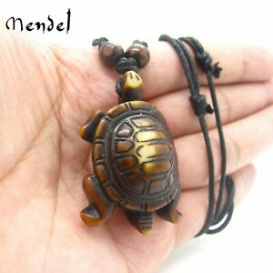 MENDEL Unisex Large Sea Turtle Pendant Necklace Men Jewelry Free Shipping
