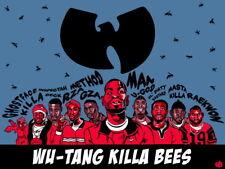 "021 Wu Tang Clan - Logo Members Art Group Band Hip Hop Rap 18""x14"" Poster"