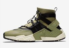 Nike Men's Air Huarache GRIPP Run Shoes Green/Black AO1730-200 Size 10.5 US