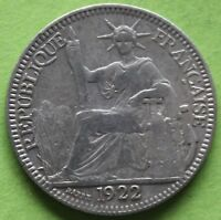 INDOCHINE 10 CENT 1922 A
