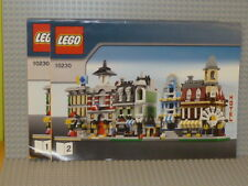 Lego ® City receta 10194 mini modulars ungelocht instruction b1816