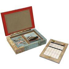 Lang Vintage Travel Deluxe Bridge Card Set Game