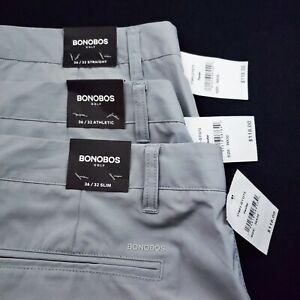 BONOBOS GOLF Highland 36 X 32 Performance Polyester Pants Straight $118