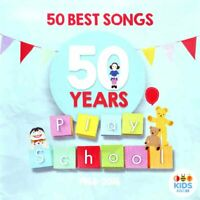 PLAY SCHOOL - 50 YEARS : 50 BEST SONGS CD ~ ABC KIDS ~ AUSTRALIAN TV *NEW*