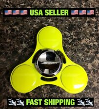 2017 NEW Candy Neon Yellow EDC Fidget Spinner High Quality 🇺🇸🇺🇸USA Seller