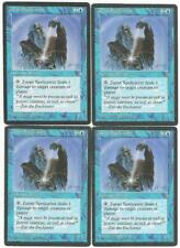 Magic the Gathering MTG Ice Age Zuran Spellcaster Cards X4 a