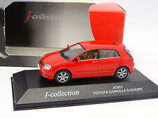 J Collection 1/43 - Toyota Corolla 5 Portes Rouge