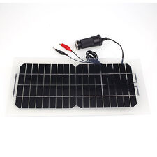 18V 5.5W Portable Flexible Solar Power Panel Car Battery Charger with USB Cable