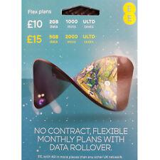EE 4G Flex Pack Pay As You Go SIM card PAYG Nano/Micro/Standard Triple Cut New !