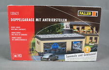 FALLER 130621 [H0, Kit] Double Garage With Drive Share - New