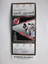NJ Devils '03 Ticket Stub Rnd 3 Home Game 2 Beat Ottawa 5-2 Go to Stanley Cup