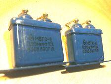 Pair (2) Capacitor Condensor 0.25uf 630V fr 45 2A3 300B 50 2a3h VT25 SE Tube Amp