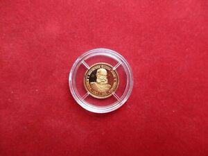 Gold Medaille Kaiser Wilhelm I. von Preußen 1,56 Gramm Gold Au PP proof