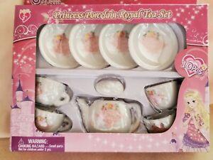 Sweet Princess Porcelain Royal Tea Set 10 Pieces