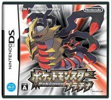USED nintendo ds pokemon platinum game soft
