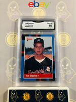 1988 Donruss Tom Glavine #644 Rookie - 10 GEM MT GMA Graded Baseball Card