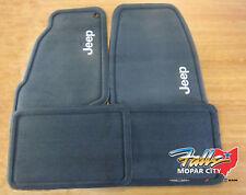 2005 Jeep Grand Cherokee Premium Carpet Floor Mats Front & Rear Mopar OEM