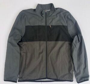 James Perse Yosemite Mens Lined Windbreaker. Gray & Brown Color. Size 3 (L). New