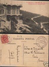 ANTIGUA POSTAL BARCELONA TIBIDABO MIRADOR SALA FIESTAS ROISIN POSTCARD   CC00919