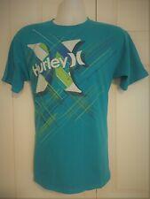 Hurley Regular Fit Men's Graphic Tee Surf Crew Neck Shirt M