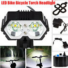 6000LM CREE XM-L T6 LED Flashlight Bike Bicycle Torch Headlight Battery Charger