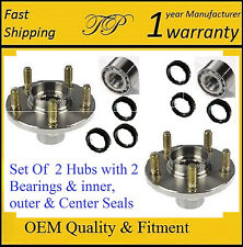 Rear Wheel Hub with Bearing & Seals Kit For SUBARU FORESTER 1998-2008 (PAIR)