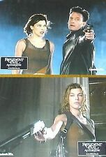 RESIDENT EVIL - Apocalypse - Lobby Cards Set + HUGE Cards! - Milla Jovovich