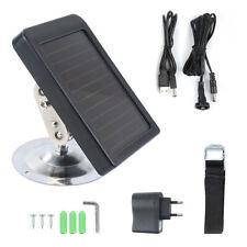 Novo Carregador Solar 7V 1500mah Painel Fonte De Alimentação Para Câmera De Caça Hc 300M HC300