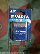 Batteria Varta 4,5V torcia elettrica tedesca, pila, battery flashlight