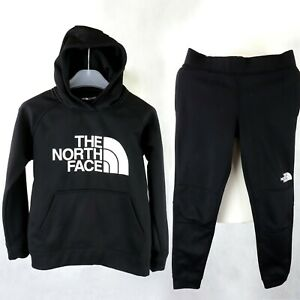 Teen Boys THE NORTH FACE Full Tracksuit Size Junior M 11-12 Y Hoody & Trousers
