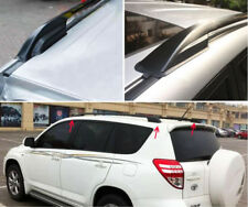 Black ABS Roof Rack Rail End Protective Cover Shell For TOYOTA RAV4 2006-2012