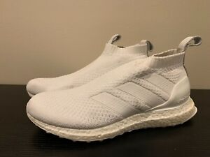 Adidas A16+ Ultraboost Triple White Mens Running Shoes Size 6.5 AC7750