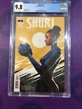Shuri #2 CGC 9.8  ‼️Nnedi Okorafor - story‼️ Marvel Low Print Run Black Panther