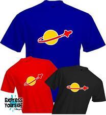 LEGO CLASSIC SPACE LOGO T Shirt - Sheldon Cooper Retro Cool Fun - Quality - NEW